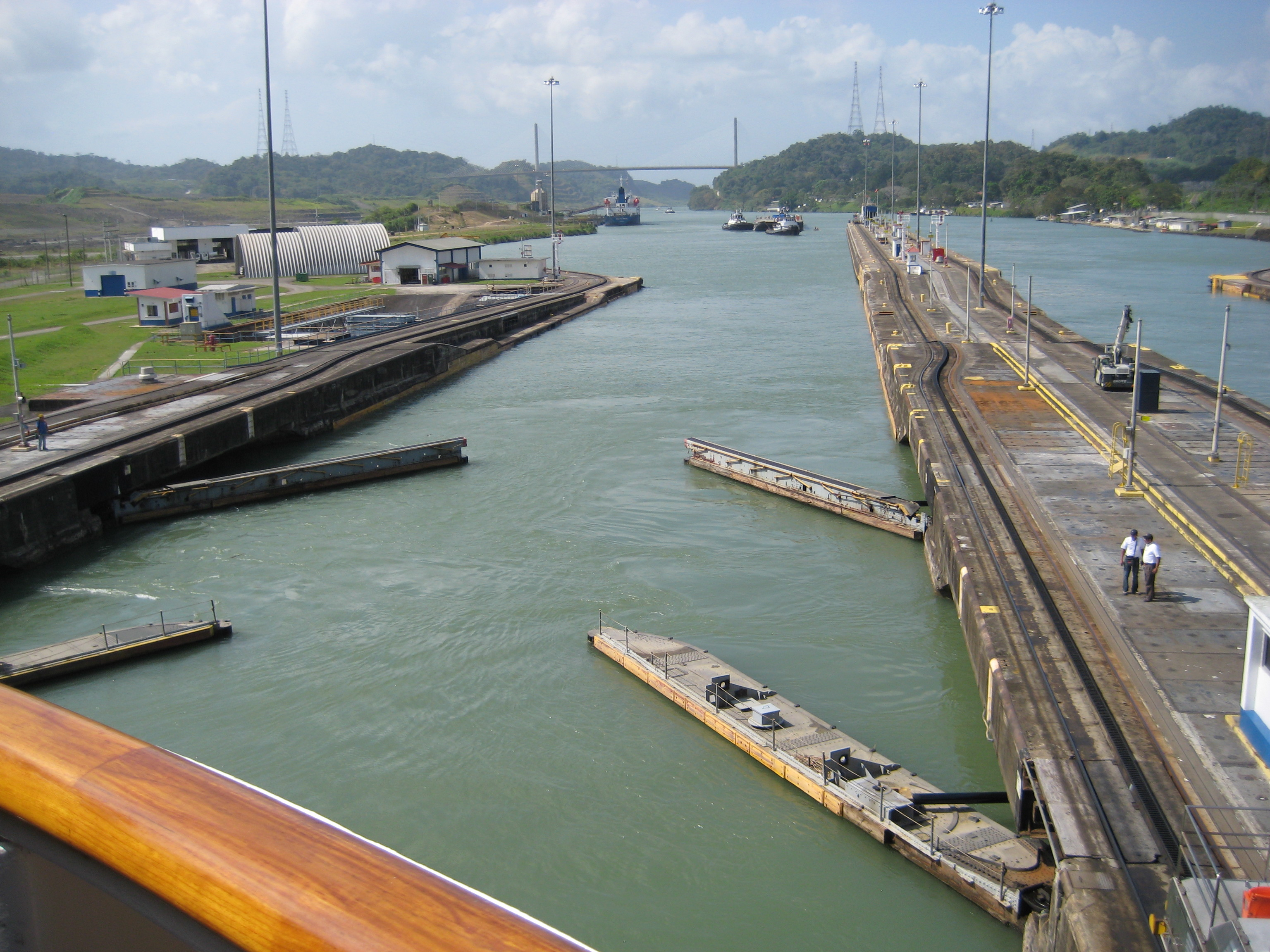 Panama Canal Locks Closing