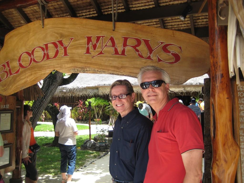 Bloody Mary's on Bora Bora