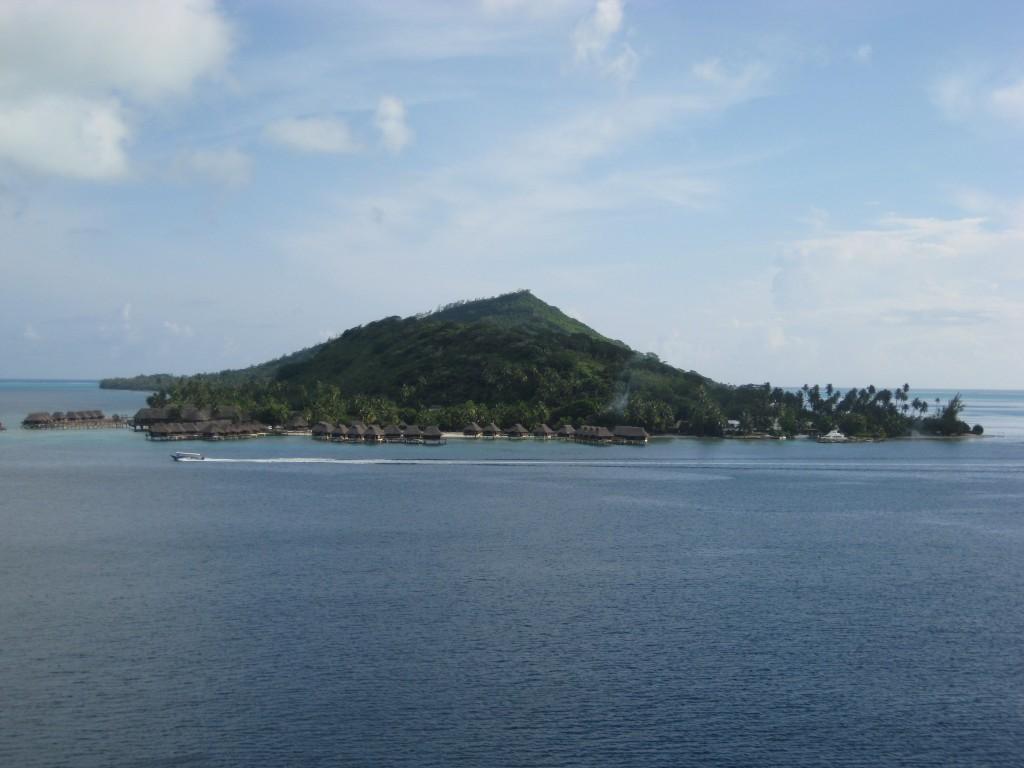Motu at Bora Bora