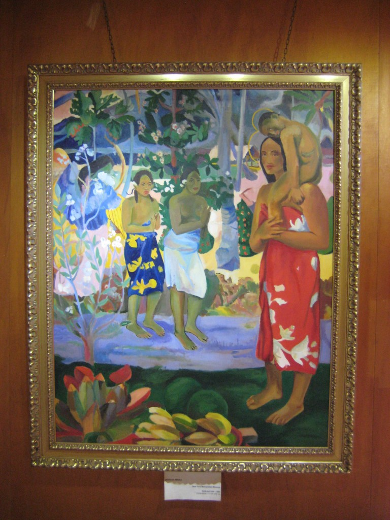 Gauguin Copy at Tiki Village-Moorea