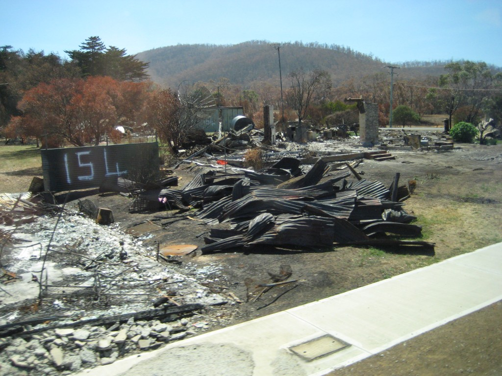 Hobart Area Fire Damage