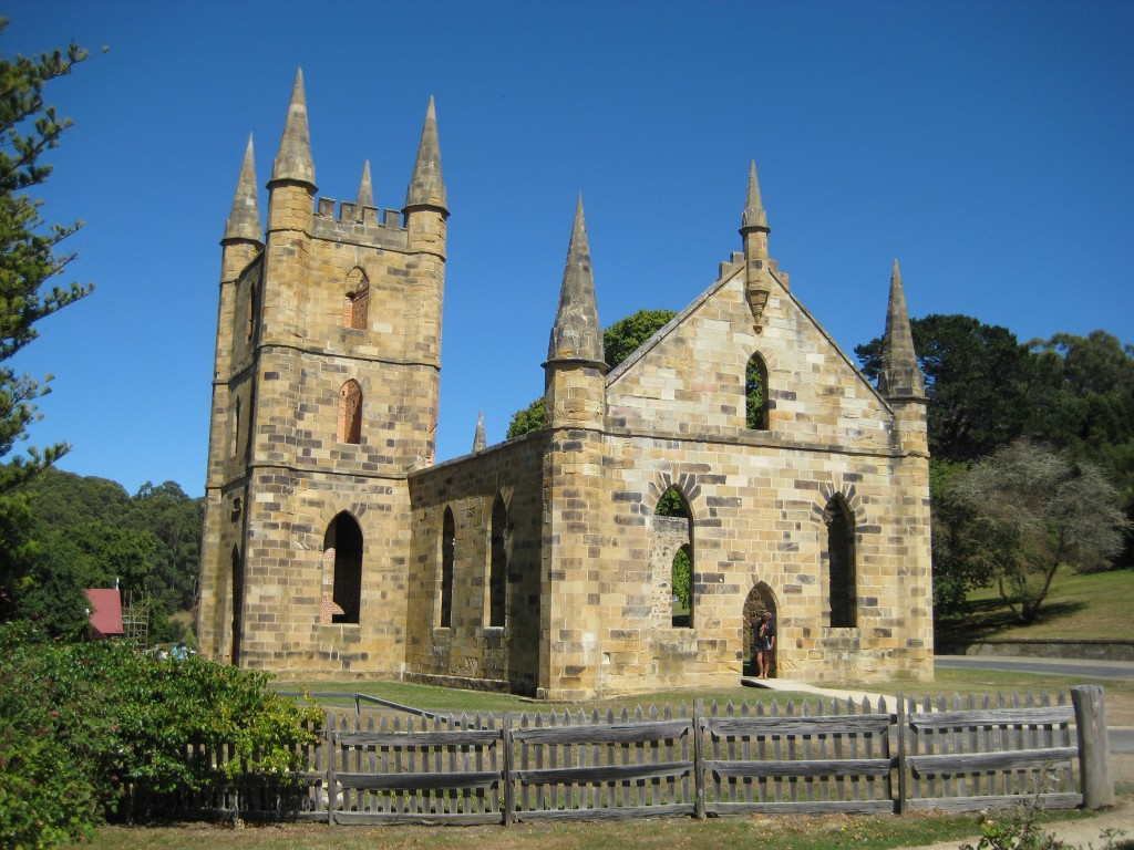 Port Arthur Penal Colony Church Ruins