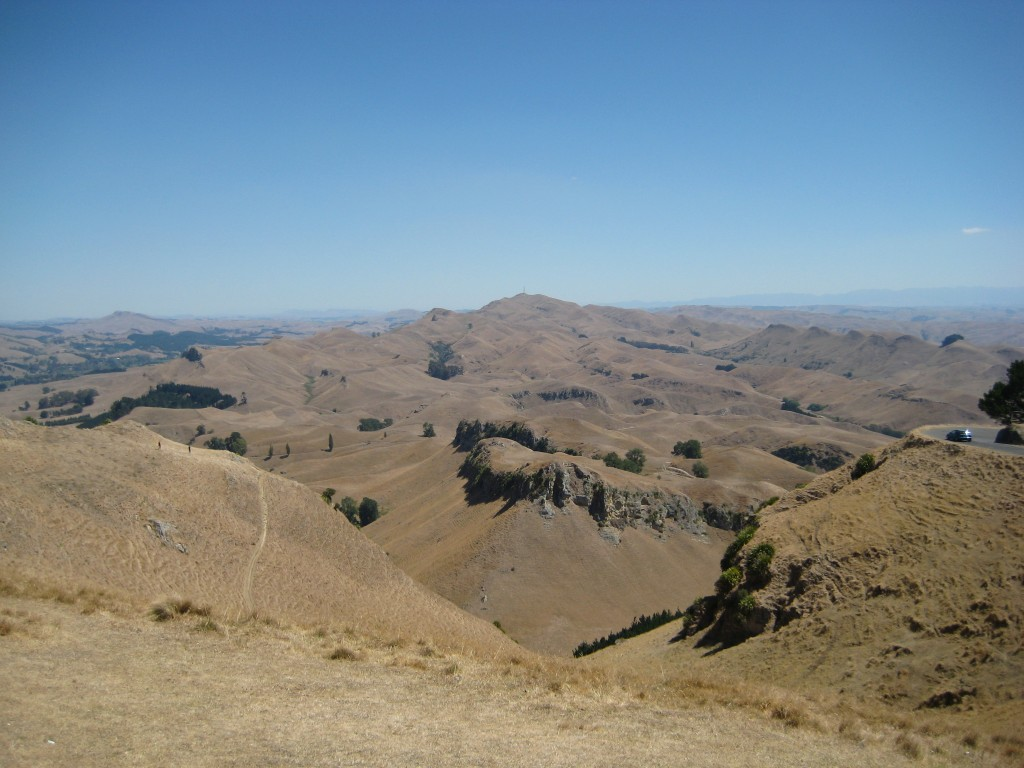 View from Mt. Te Mata