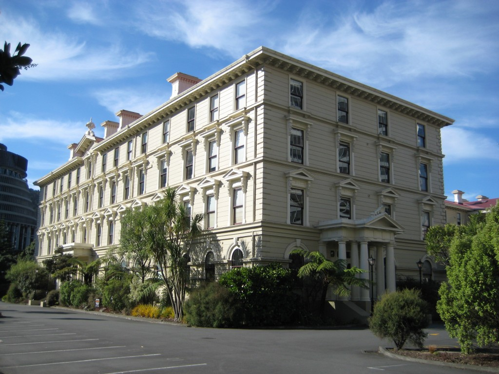 Wellington's Largest Wooden Building