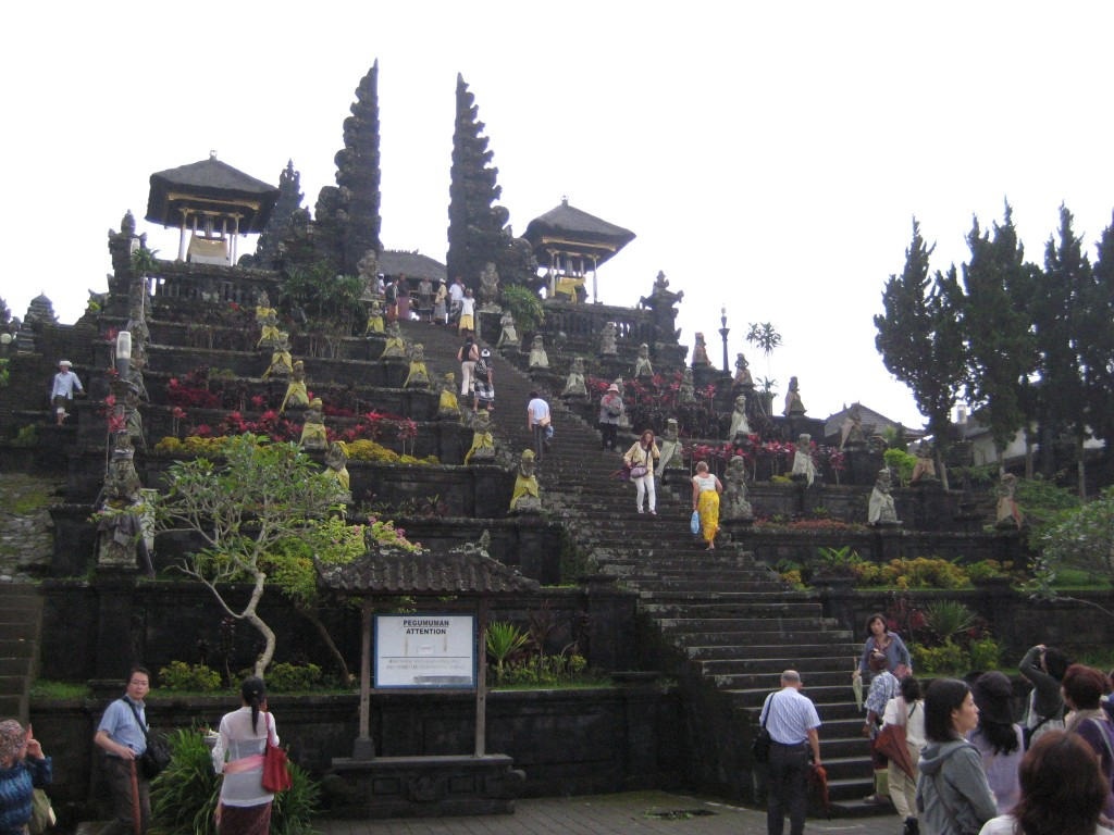 Largest temple in Bali