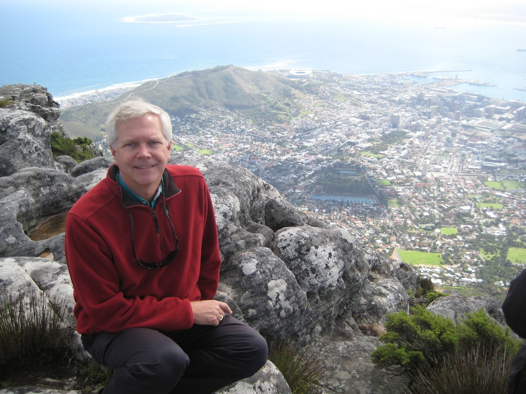 Mark at Table Mountain