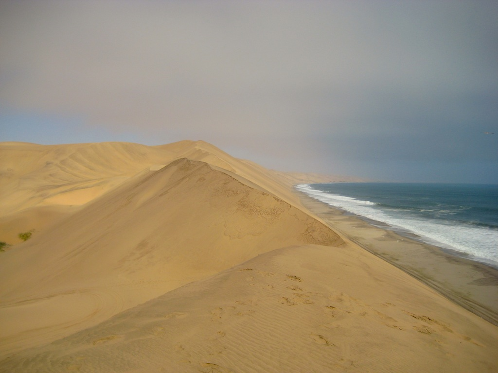 Sand Dunes outside of Walvis Bay