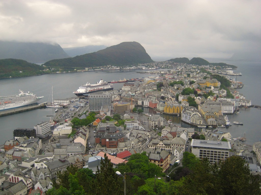 Alesund View from Mt. Aksla