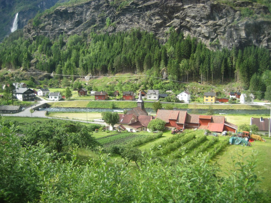 Laerdal Village near Flam
