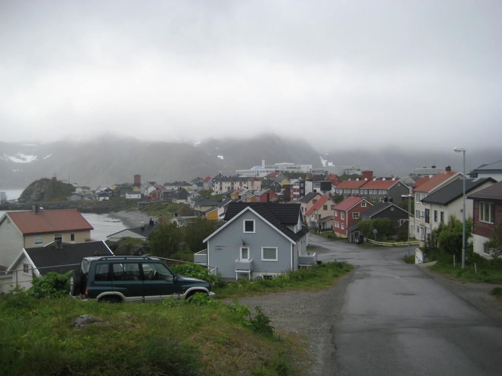 Honningsvag Village
