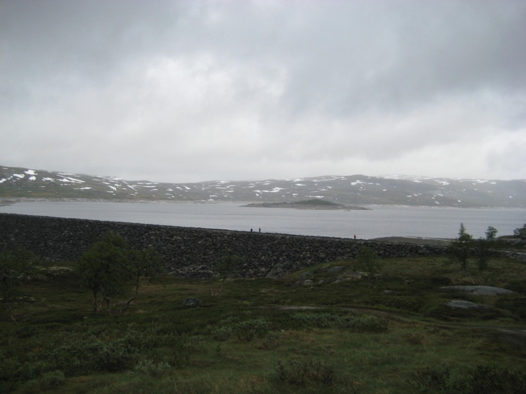 Reservoir on the Plateau
