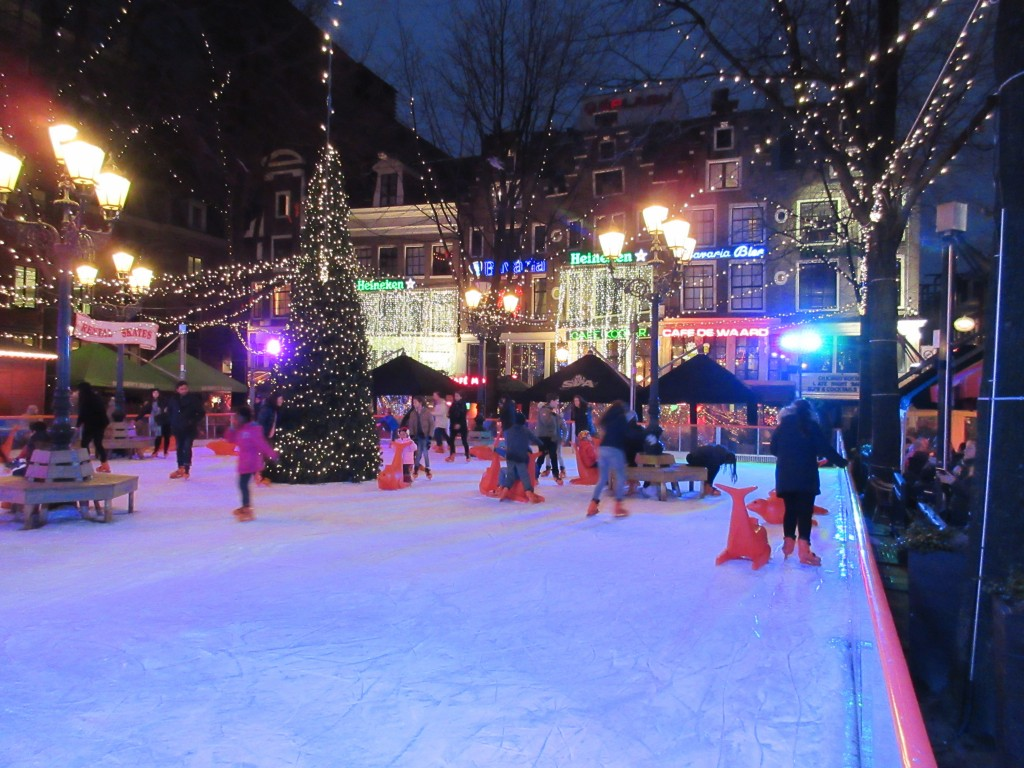 Ice Skating Rink in the heart of Amsterdam