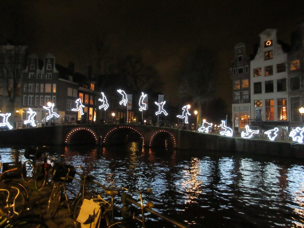 Amsterdam Lighted Men