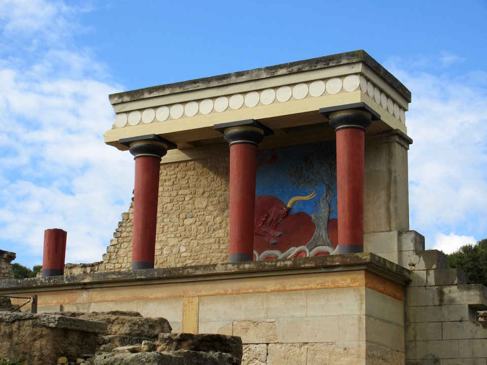 Iraklion Knossos Labryinth