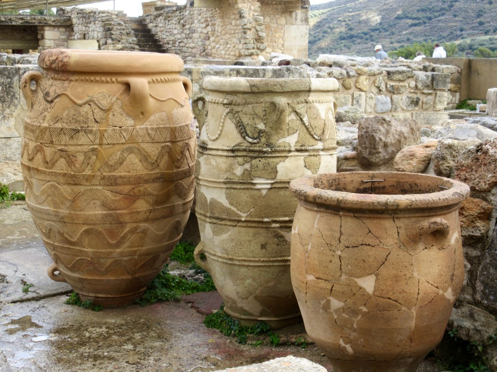 Iraklion Knossos Pottery