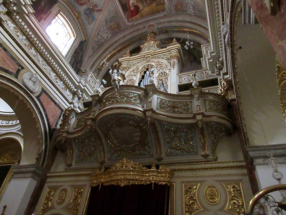 Malta Church Interior