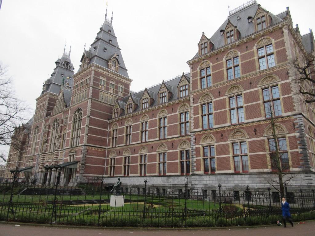 Exterior of the Rijks Museum