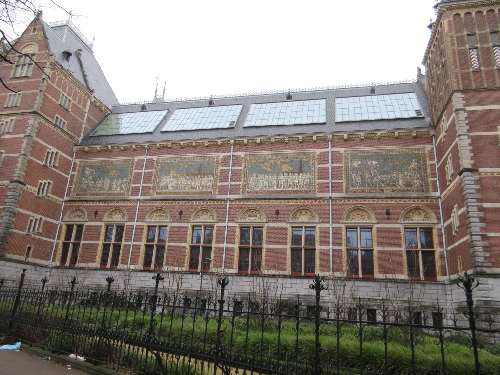 Another view of the Rijks Museum Exterior