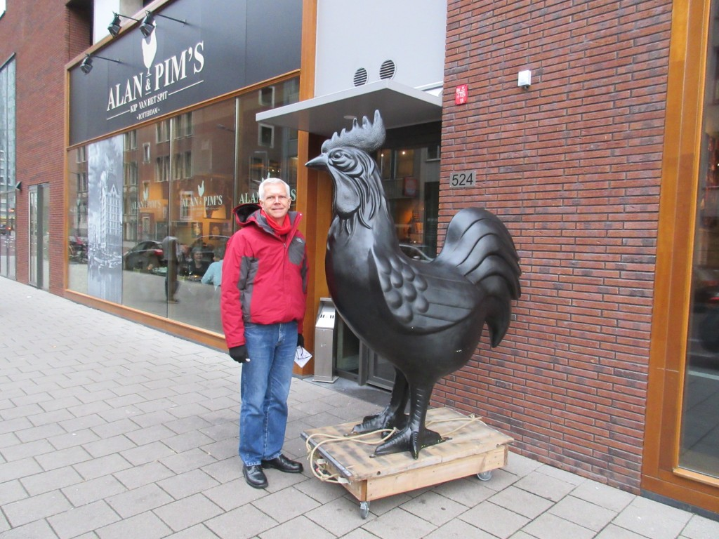 Rotterdam - Mark and the Rooster