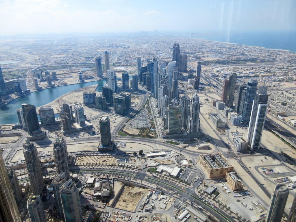 View from Burj Khalifa Tower
