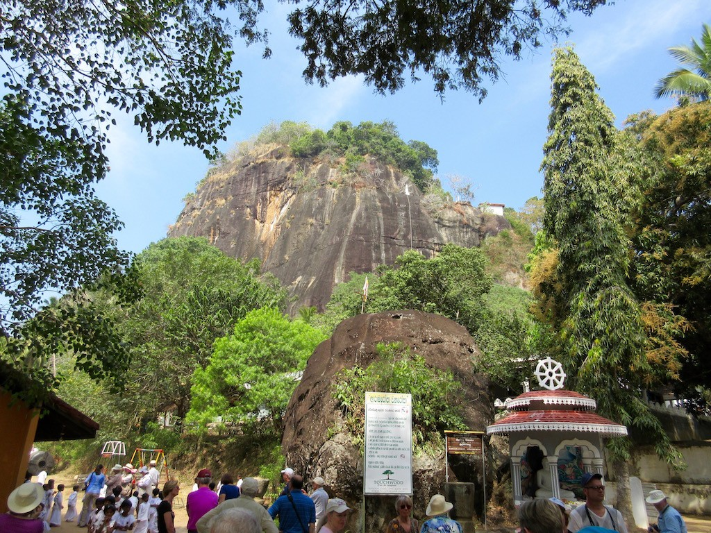 Hambantota - Mulkirigala Temple Rock