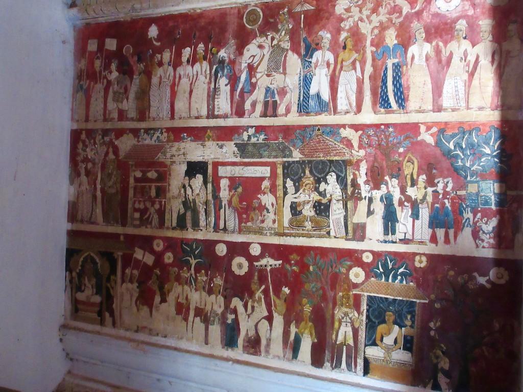 Hambantota - Cave Murals
