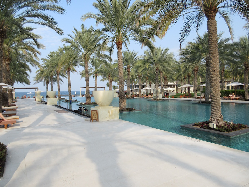 Al Bustan Palace Grounds