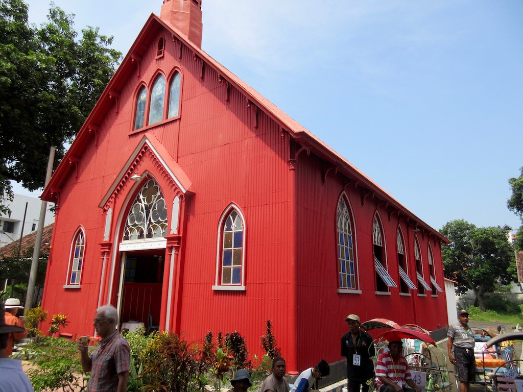 Probolinggo Red Church