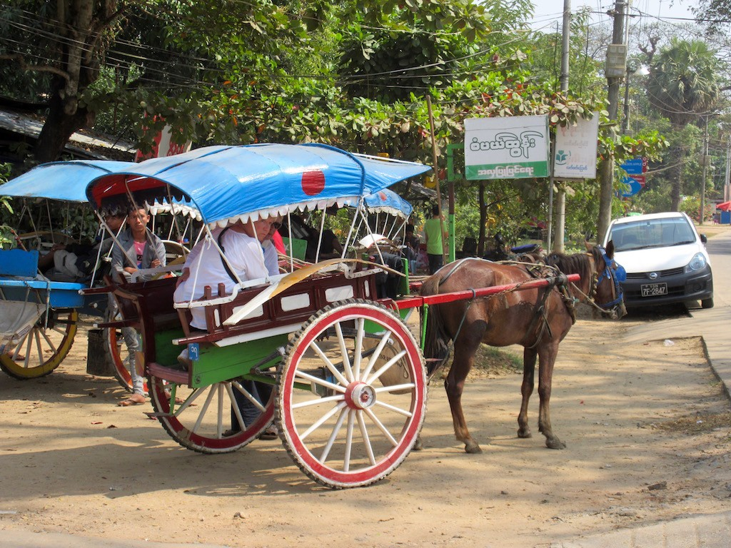 Thanlyin Village Pony Cart