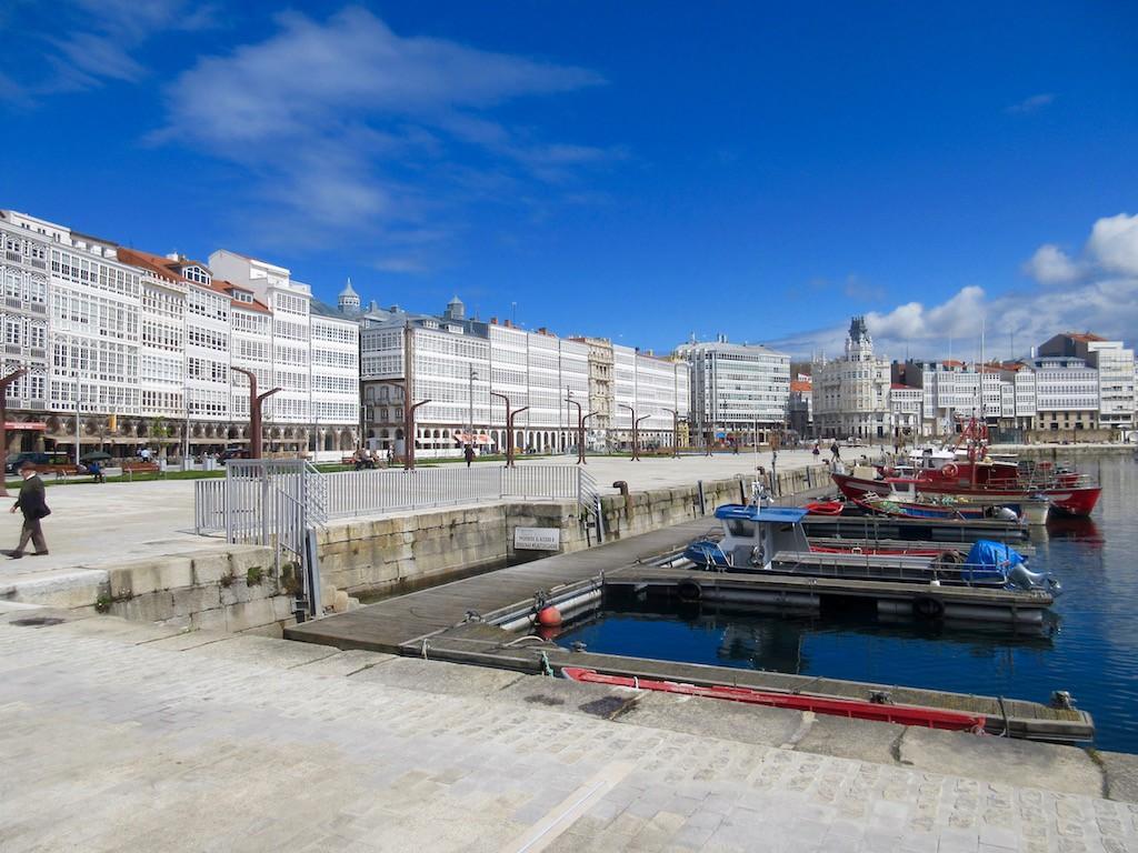 A Coruna, Spain -  Port