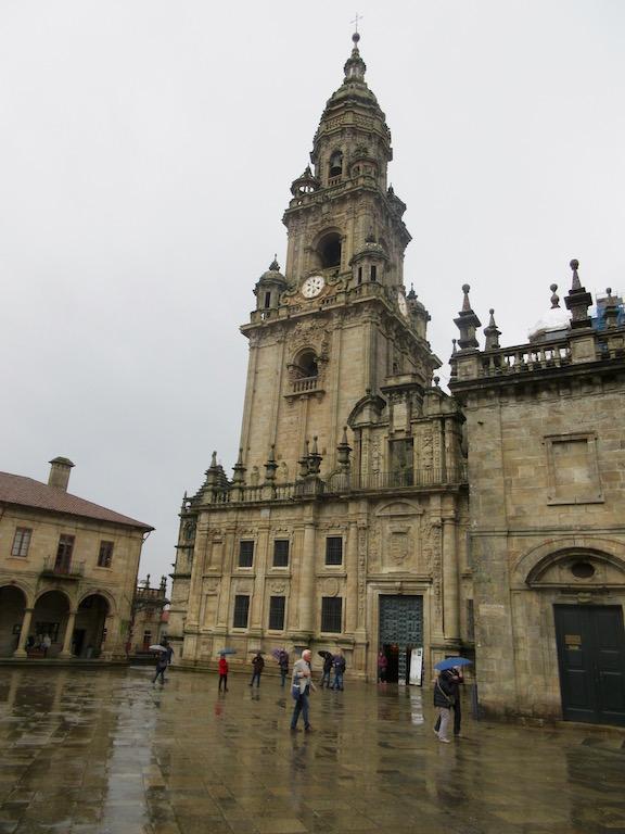 A Coruna, Spain - Santiago de Compostela