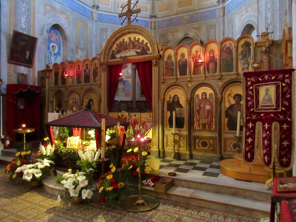 Cargoes Greek Orthodox Altar