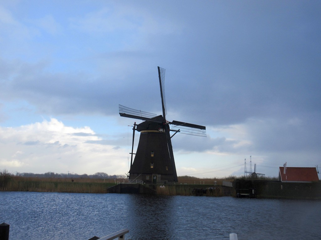 Rotterdam - Kinderdijk Windmill