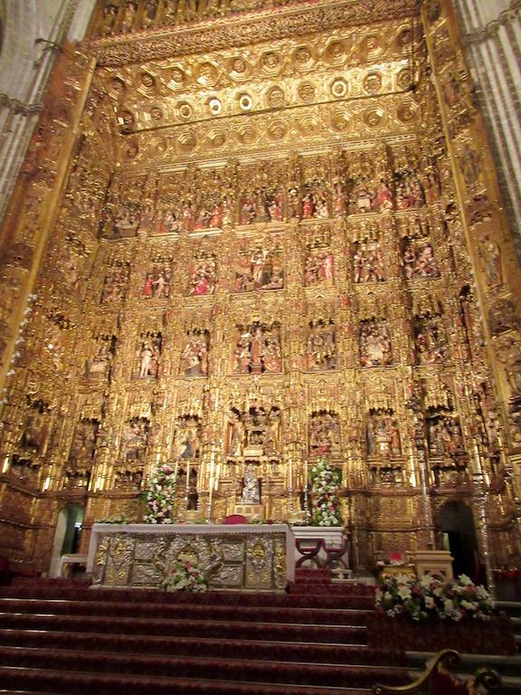 Seville - Cathedral Altar