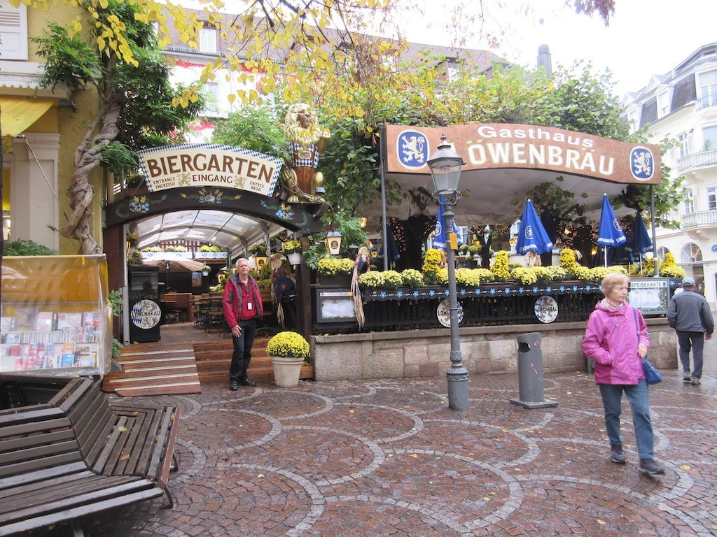 Baden-Baden - Beer Garden