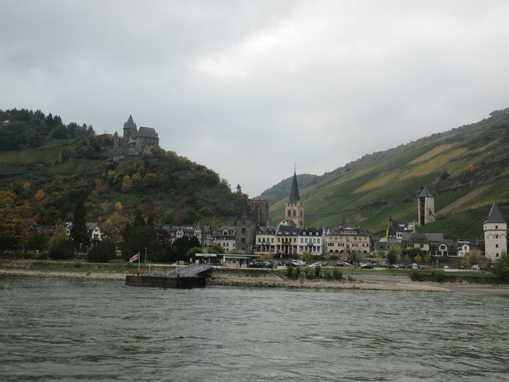 Boppard to Mainz - Views along the Rhine River