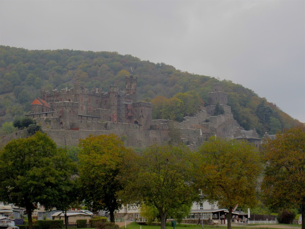 Boppard to Mainz - One of the Castles along the Rhine River