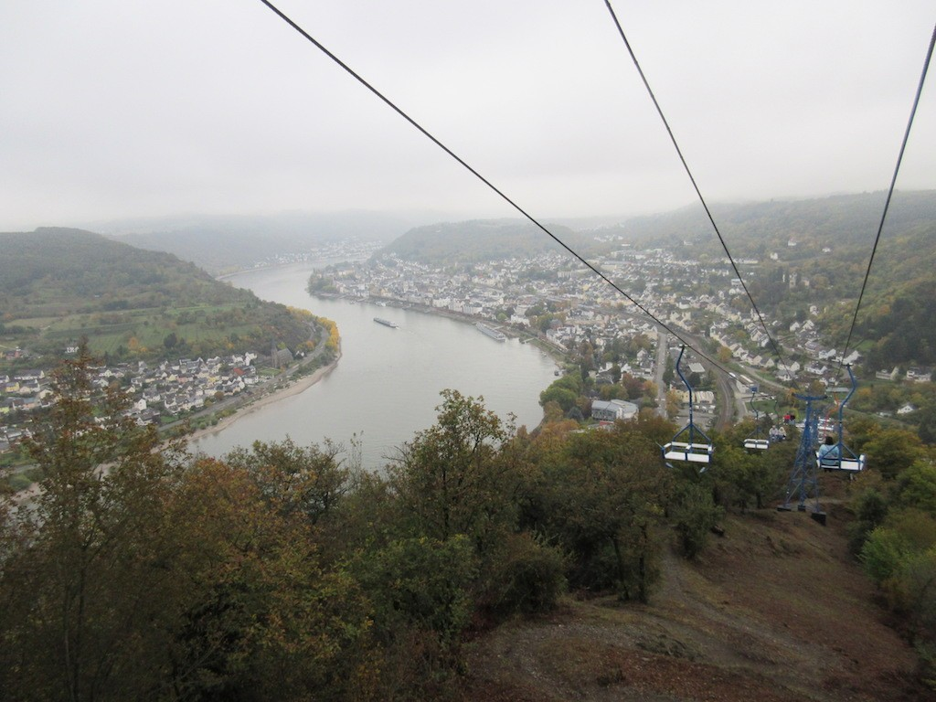 Boppard - View from the Ski Lift