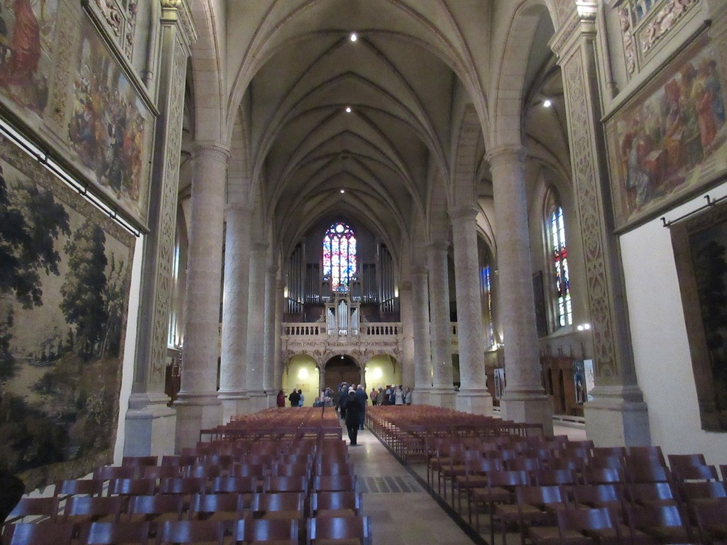 Luxembourg - Church Interior