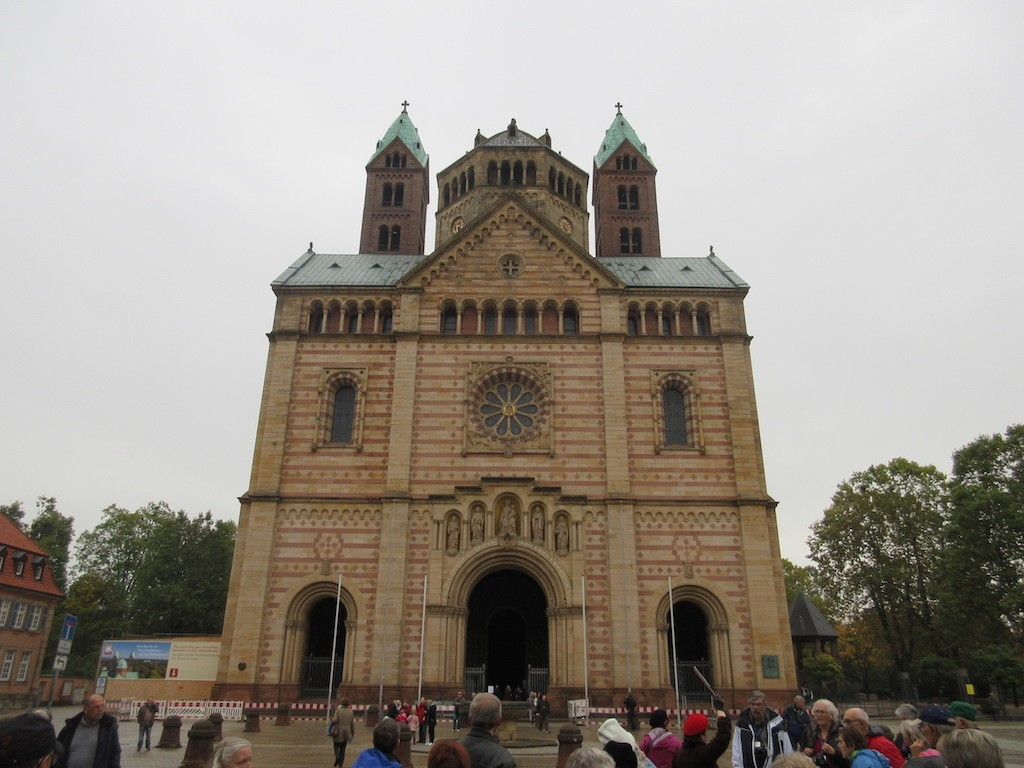 Speyer - Cathedral Facade