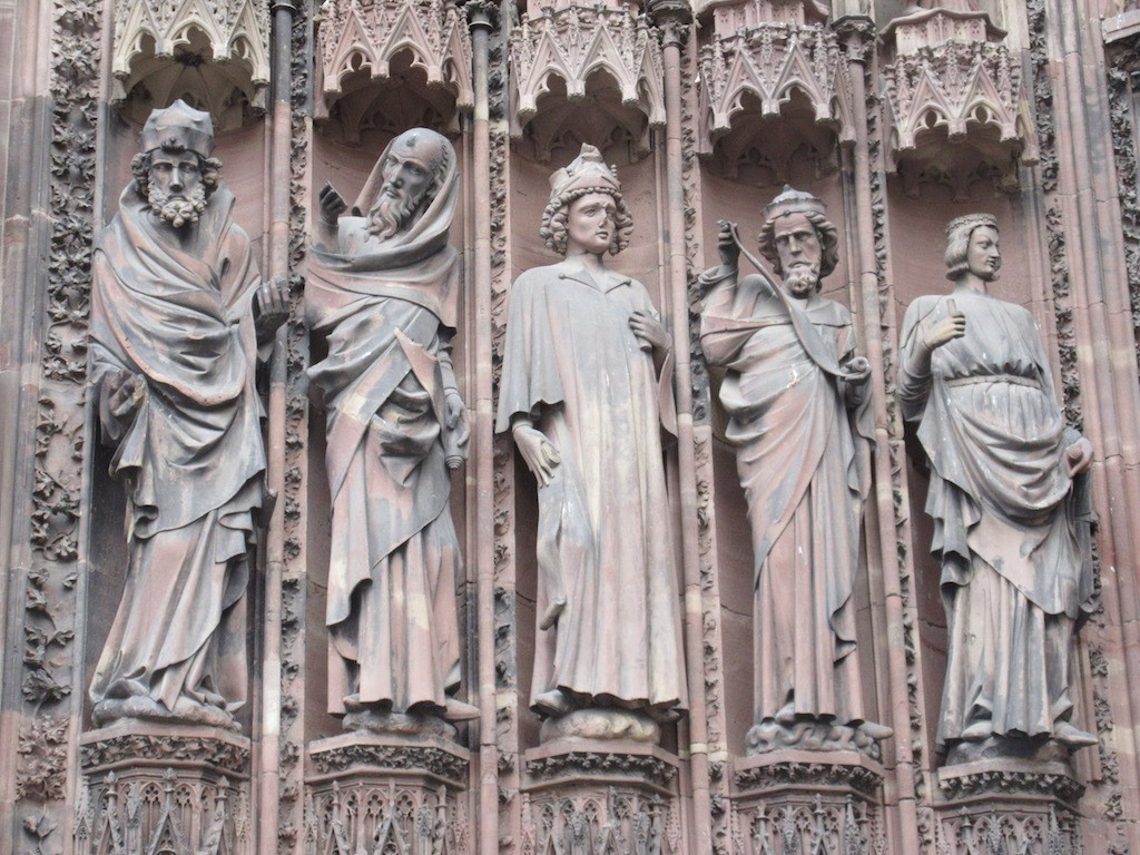 Strasbourg - Cathedral Statue Detail