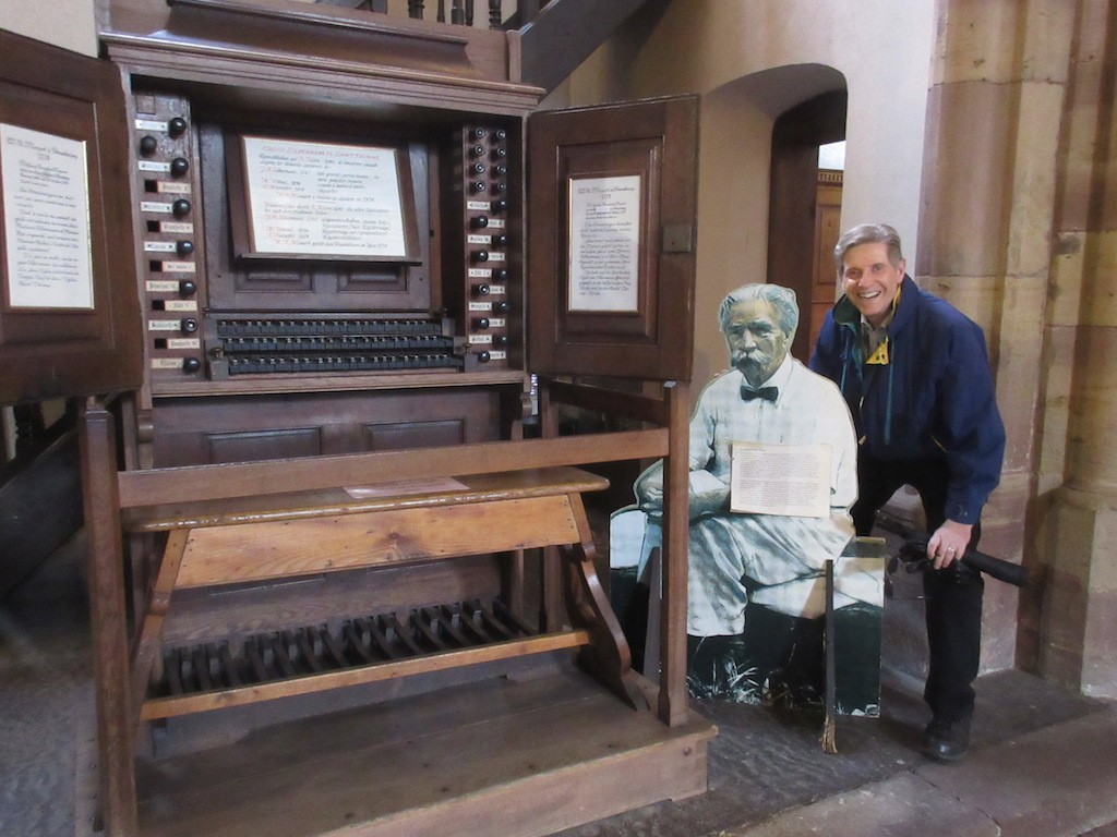 Strasbourg - Kent and Albert Switzer at the Organ