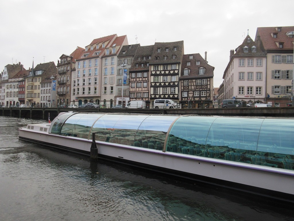 Strasbourg - Canal Touring Boat