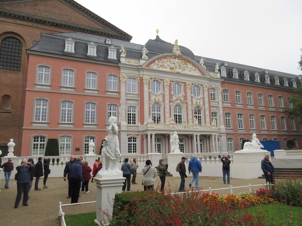 Trier - Palace Facade