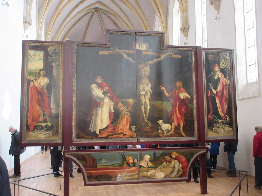 Colmar - One of the Altarpiece Panels