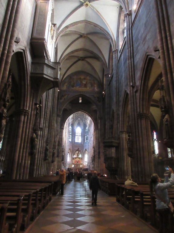 Freiburg - Church Interior