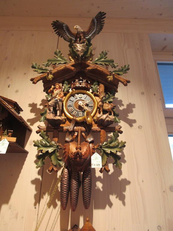 Freiburg - Small Cuckoo Clock