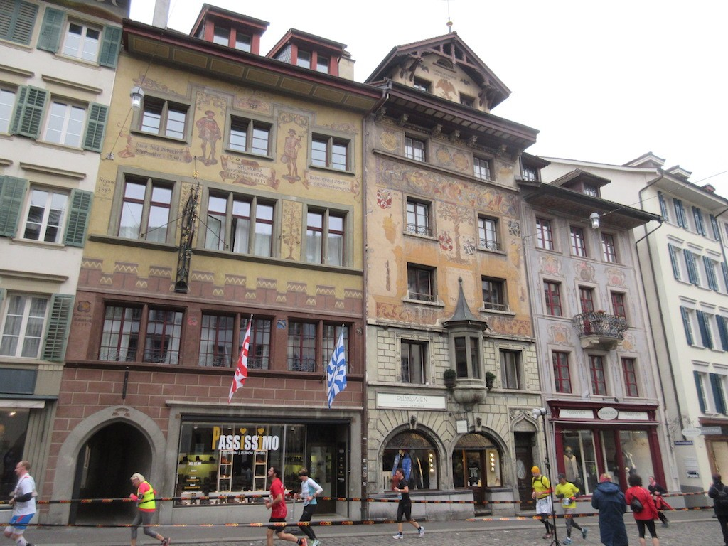 Lucerne - Decorative Buildings