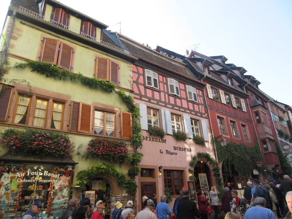 Riquewehr - Main Street Facades